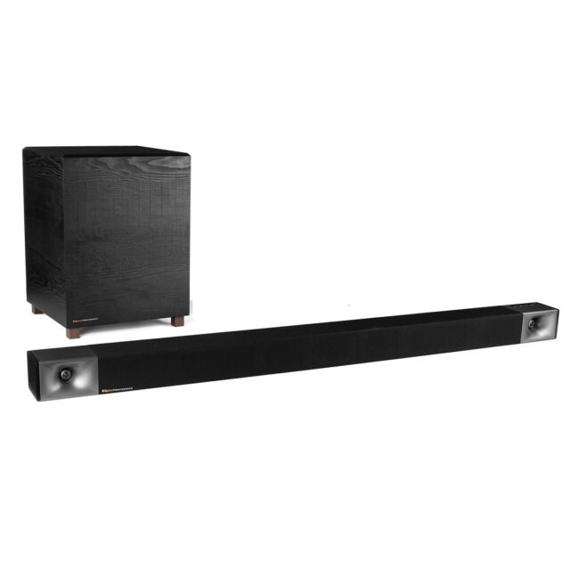 Klipsch BAR 48 3.1 Sound Bar with Wireless Subwoofer (Black)