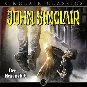 JOHN-SINCLAIR-CLASSICS-FOLGE-29-DER-HEXENCLUB-CD-NEW