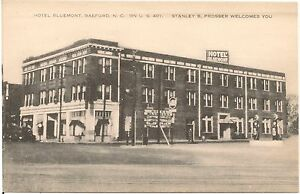 Image Is Loading Hotel Bluemont In Raeford Nc Postcard