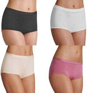 EX-M-amp-S-Ultimate-Comfort-Flexifit-4-Way-Stretch-Midi-Knickers-in-White