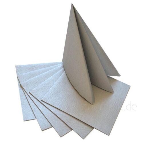 12 x Servietten zum falten stoffähnlich Airlaid 40 x 40 cm Taufe Hochzeit Dinner