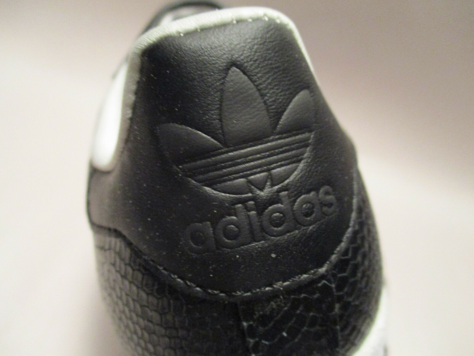 4f363fed New in Box Adidas Superstar Reptile Black Leather US sz 4 1/2 Ortholite  Sneakers