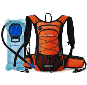 Hydration-backpack-with-2L-bladder-System-Survival-Water-Pack-Hiking-Gear-New