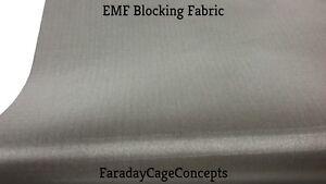 Details about EMF RFID RF Shielding Copper Fabric Roll - 55