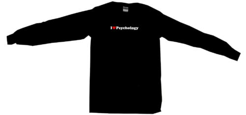 I Heart Love Psychology Mens Tee Shirt Pick Size Color Small-6XL