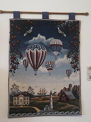 Euc Hot Air Balloon Decorative Wall
