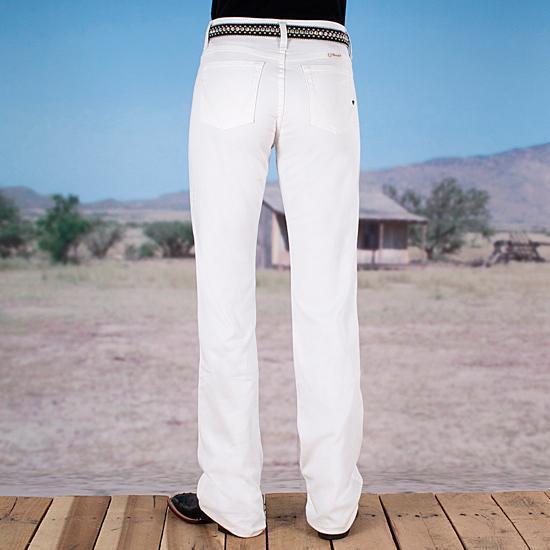Wrangler URJ Q-Baby Dyeable Weiß Jeans