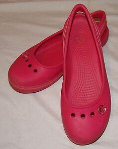Women Sandali J Crocs Scarpe Junior Pink 4 5q4H8Taw