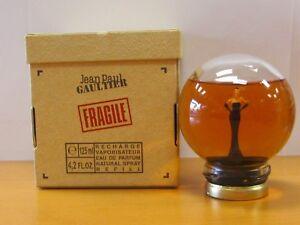 Details About Jean Paul Gaultier Fragile Perfume Recharge Women 42 Oz Eau De Parfum Rare