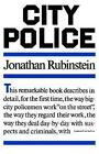 City Police 9780374515553 by Jonathan Rubinstein Book