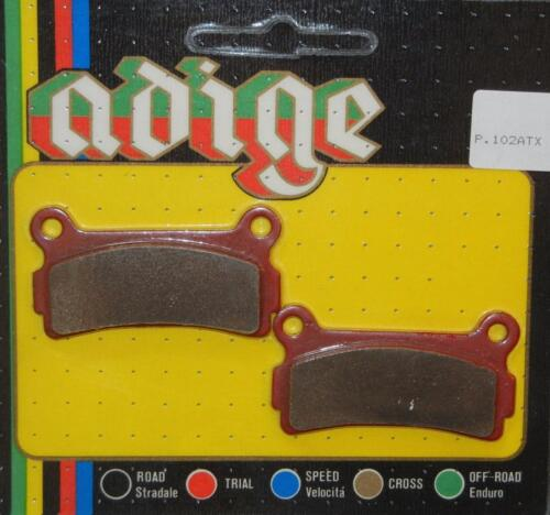 1988-on Beta TR35 TR34 ST Trials rear brake pads Made In Italy Adige P.102ATX