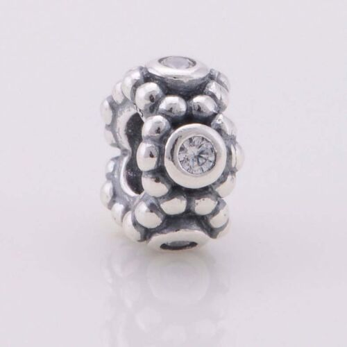 PINK MAJESTIC SPACER Sterling Silver European Charm Bead SP1