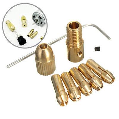 1Set/8pcs 0.5-3mm Small Electric Drill Bit Mini Twist Drill Tool Hot
