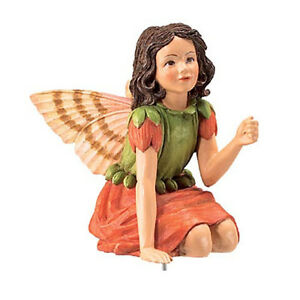 Flower-Fairy-Geranie-Serie-16-Deko-Figur-Elfe-Fee-Blumenkind-NEU