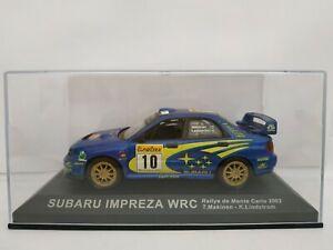 1-43-SUBARU-IMPREZA-WRC-2002-MAKINEN-MONTECARLO-RALLY-RALLYE-IXO-ESCALA-DIECAST