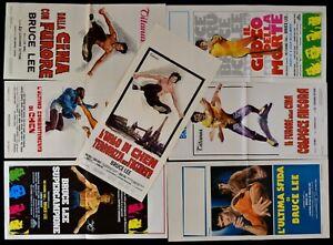 Lotto-7-Poster-Bruce-Lee-aus-China-Mit-Furore-Die-Spiel-Der-Tod-Chen