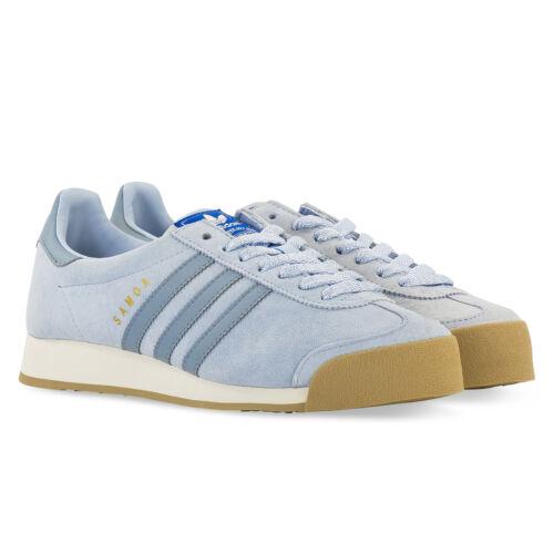 1bb35c8314d Vntg Us Adidas Samoa By3160 Light 10 44 Blue 9 Eur Originals Suede Uk 5  wttFqAZ6E