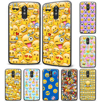 Emoji Funny Smile Face Cartoon Pattern Phone Case Cover For Lg Cell Phone Series Ebay