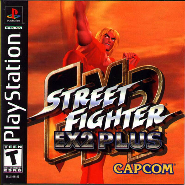 Street Fighter EX2 Plus PS1 Great Condition Fast Shipping