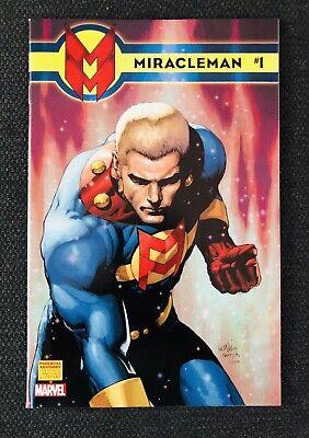 Miracleman #7 Ronnie Del Carmen 1:25 Variant Marvel 2014 Alan Moore Marvelman