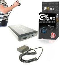 Ex-Pro ® sobre el movimiento de la batería 16000mAh sistema EN-EL15 EP-5B Para Nikon D600 D800