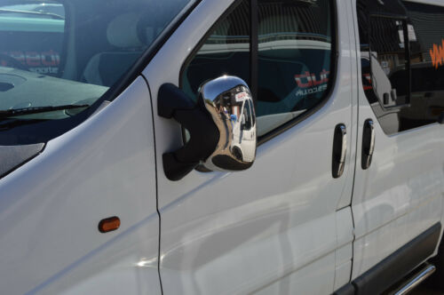 Renault Trafic 2001-2014 Abs Chrome Mirror Cover 2Pieces