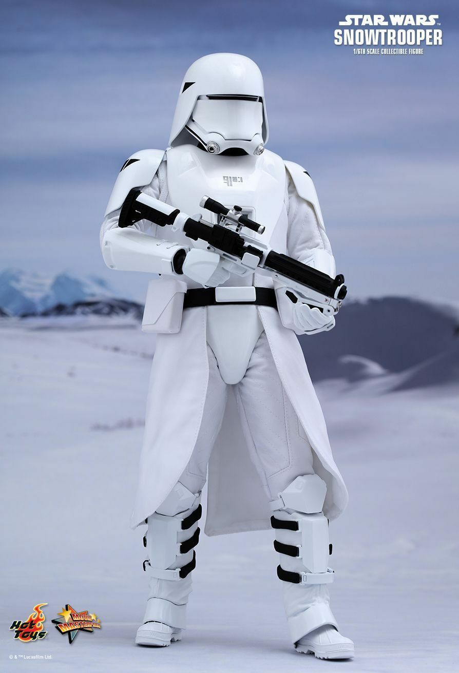 STAR WARS EPISODE VII. FIRST ORDER SNOWTROOPER 1 6 HOT TOYS