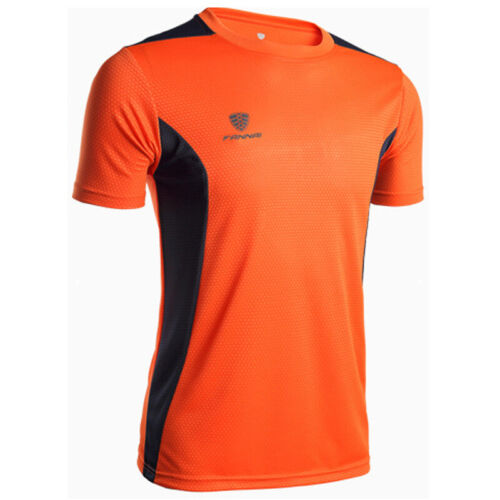 Mens Breathable T-Shirt Wicking Cool Running Gym Top Sports Performance Tee UK ~
