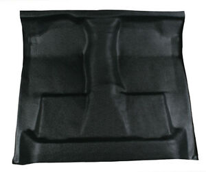 New Black Vinyl Floor Mat Replaces Carpet 1987 1997 Ford F250 Ext Cab Auto 4wd Ebay