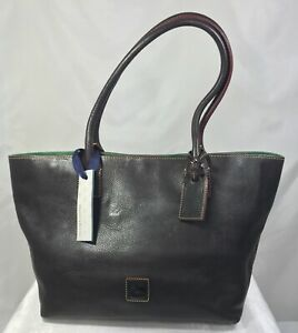 Dooney-amp-Bourke-Florentine-Leather-Small-Russel-Bag-Dark-Brown-A229391