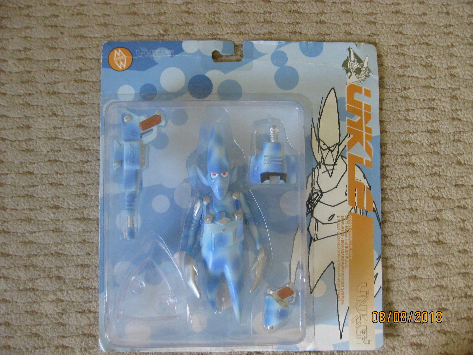Futura Unkle Action Action Action Figure Mo Wax Pointman 5c5442