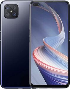NUOVO-Oppo-Reno-4-Z-BLACK-6-50-034-128GB-DUAL-SIM-5G-Android-10-SIM-Gratis-Sbloccato