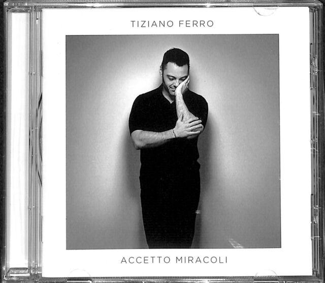 Tiziano Ferro - Accetto Miracoli  spedizione corriere