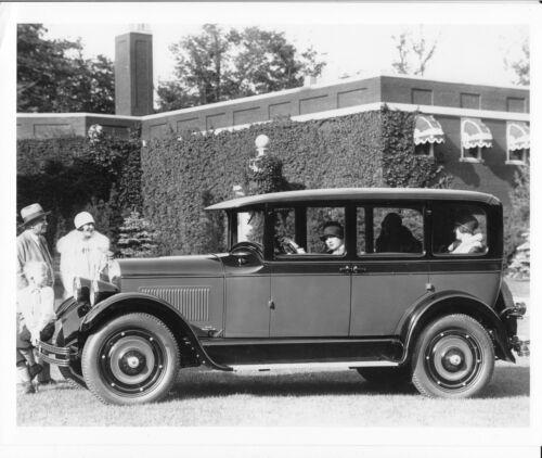 Ref. # 90736 1927 Studebaker Standard Six Custom Sedan Factory Photo