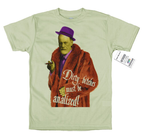 Sigmund Freud T Shirt Pimp Diseño Parodia