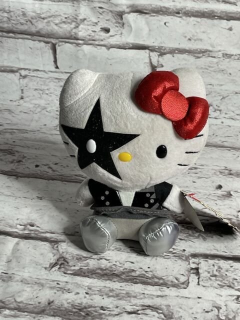 Ty Beanie Baby HELLO KITTY STARCHILD Paul Stanley from Rock N Roll Band KISS