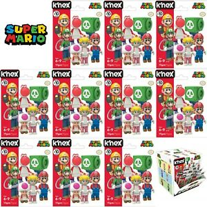 Lot-of-10-K-039-nex-Super-Mario-Buildable-Collectible-Figure-Blind-Bag-Series-10