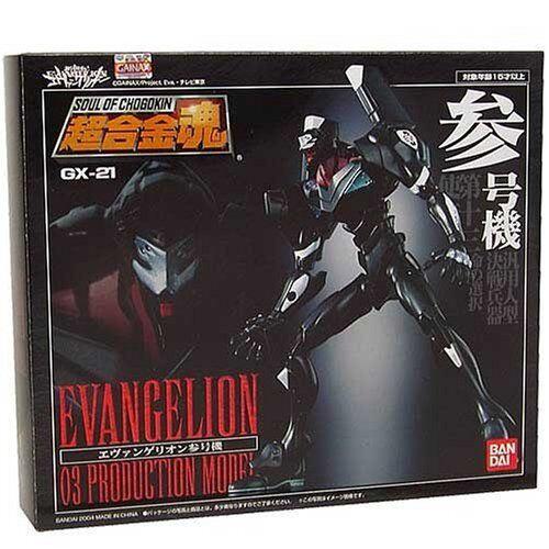 BANDAI SOUL OF CHOGOKIN GX-21 EVANGELION 03 PRODUCTION MODEL NEW