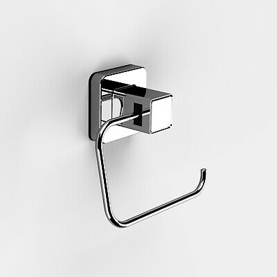 Wall Mounted Chrome Rust Proof Spare toilettes Roll HolderInfinity