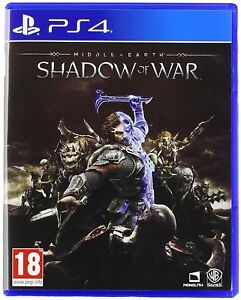 MIDDLE-EARTH-SHADOW-OF-WAR-PS4-pour-Sony-PlayStation-4-Neuf-Scelle