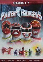 Power Rangers Seasons 4-7 (2013 Dvd 21-disc) 4 5 6 7 Action Adventure Scifi