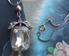 Splendide collier ancien Art Déco 1930 argent marcassites brillant