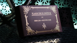 by Shin Lim Flash Deck Switch 2.0 Magic Tricks Improved // Red