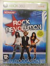 OCCASION Jeu ROCK REVOLUTION xbox 360 microsoft francais guitare musique COMPLET