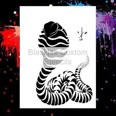 Snake Cobra Lg 02 Airbrush Stencil,Template
