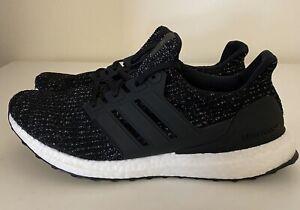 Details about Adidas UltraBoost 4.0 Core Black Cloud White Women's Sz 12/ Mens Sz 11 F36125