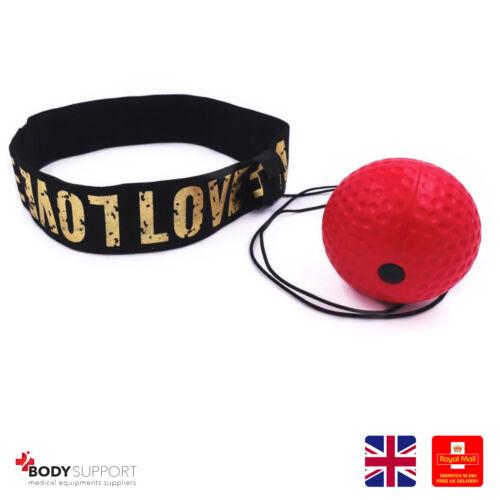 Boxe Reflex Vitesse de balle Punch Training main Coordination Focus Soft Training