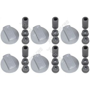 6 X Indesit Universal Cooker/Oven/Grill Control Knob And ...