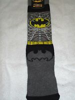 Men's Bioworld Premium Crew Socks Batman Size 10-13