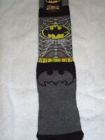 Men's Bioworld Premium Crew Socks Batman Size 10-13